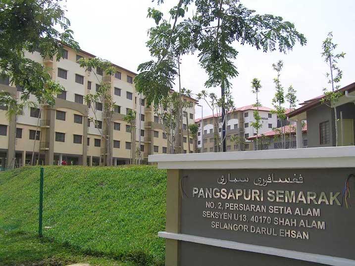 Apartment Kos Rendah