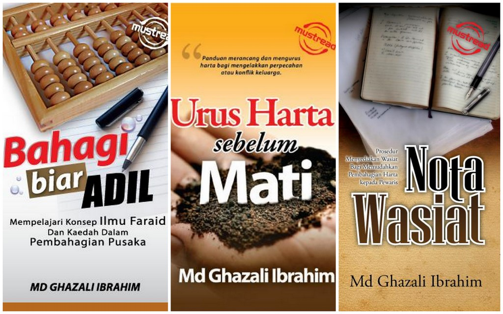 buku wasiat harta pusaka ghazali