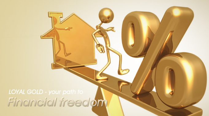 pelaburan emas dengan pinjaman