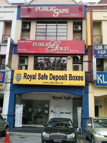 royal safe deposit box sunway