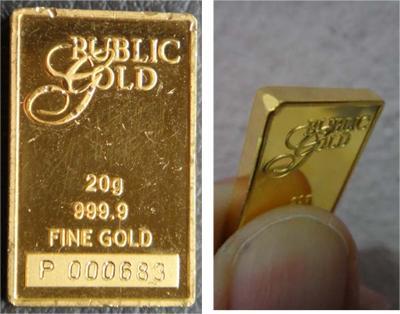 Emas public gold kemek calar
