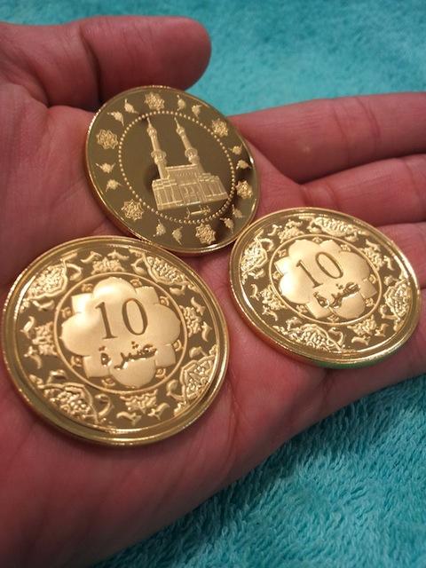 10 dinar emas public gold