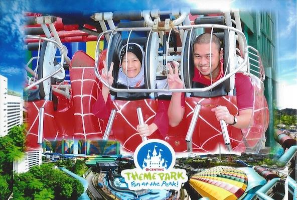 Genting highland flying coaster