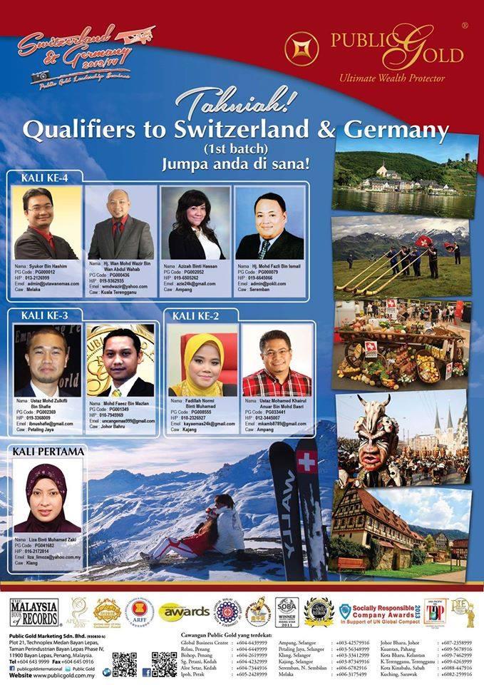 public gold melancong switzeland 2015
