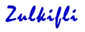 tanda tangan mohd zulkifli