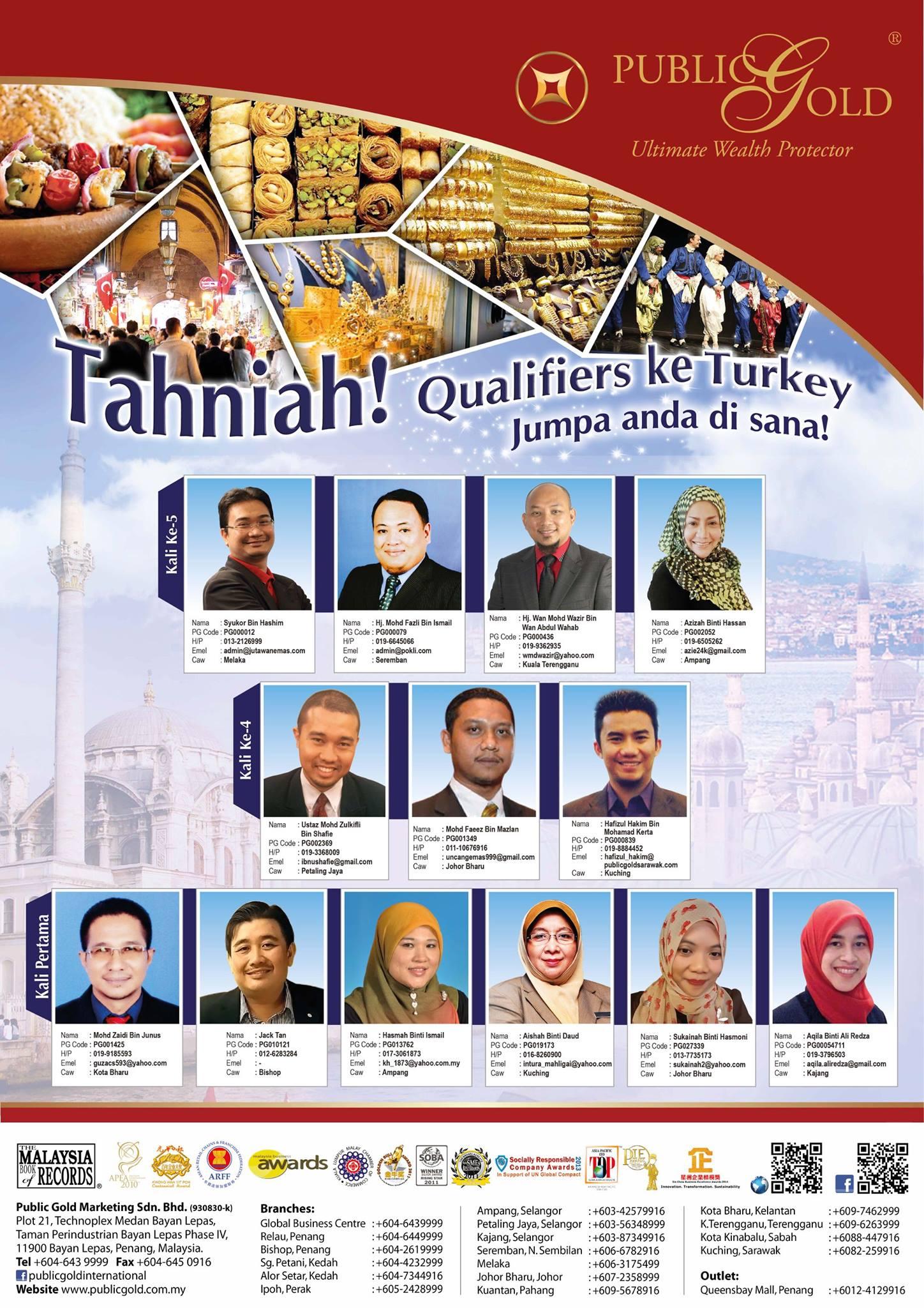 trip melancong ke turki turkey public gold