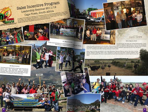 Trip Public Gold ke Cape Town 2013