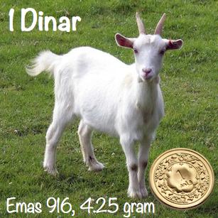 kambing-1-dinar