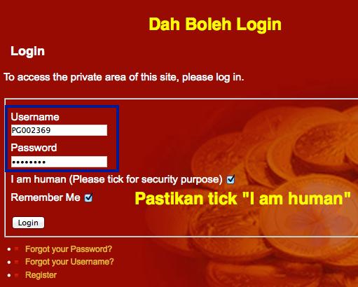 login web public gold