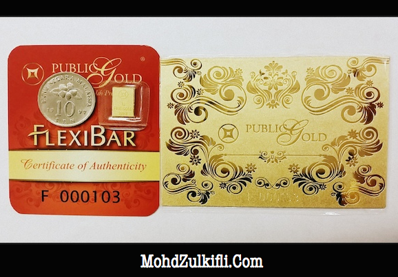 flexibar public gold