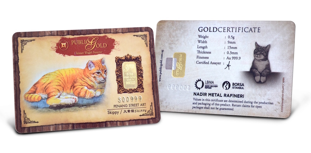 gold bar 0.5 gram cat public gold