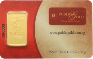 gold bar LBMA 20 gram