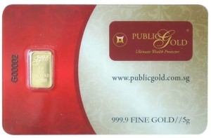gold bar LBMA 5 gram