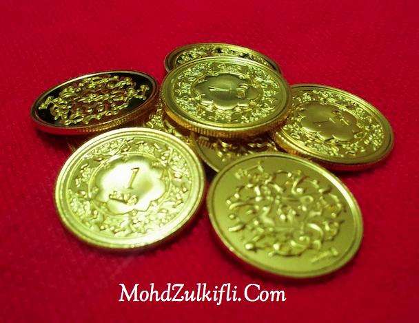 syiling 1 dinar emas public gold