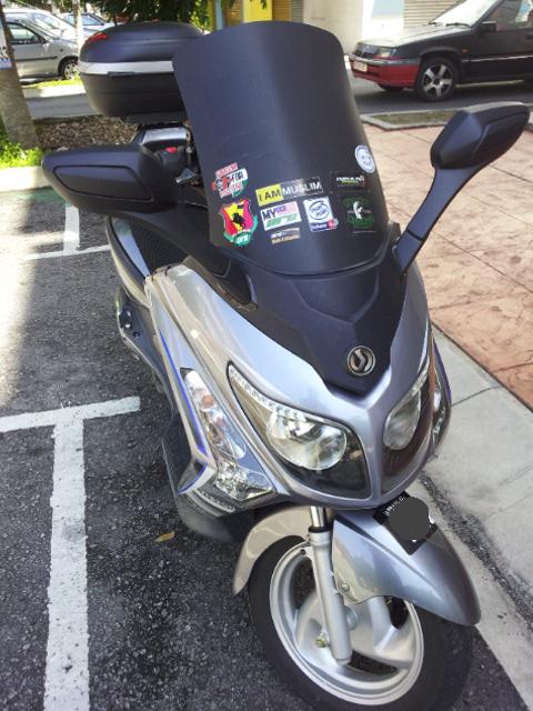 motosikal sym vts 200
