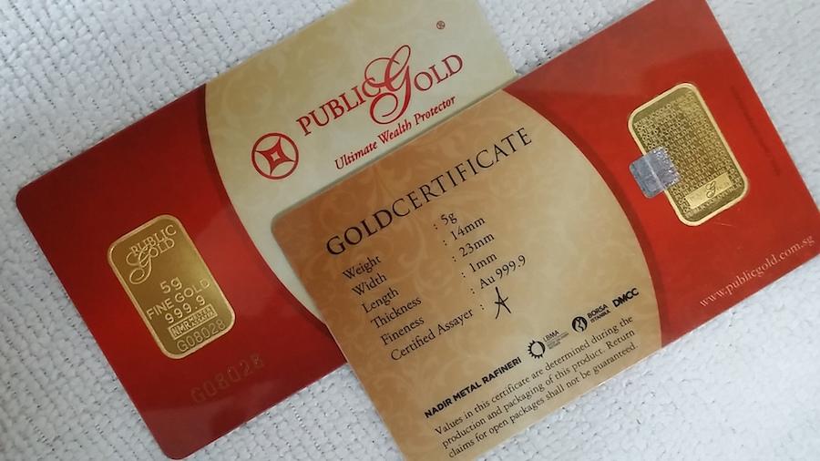 jongkong emas gold bar 5 gram public gold