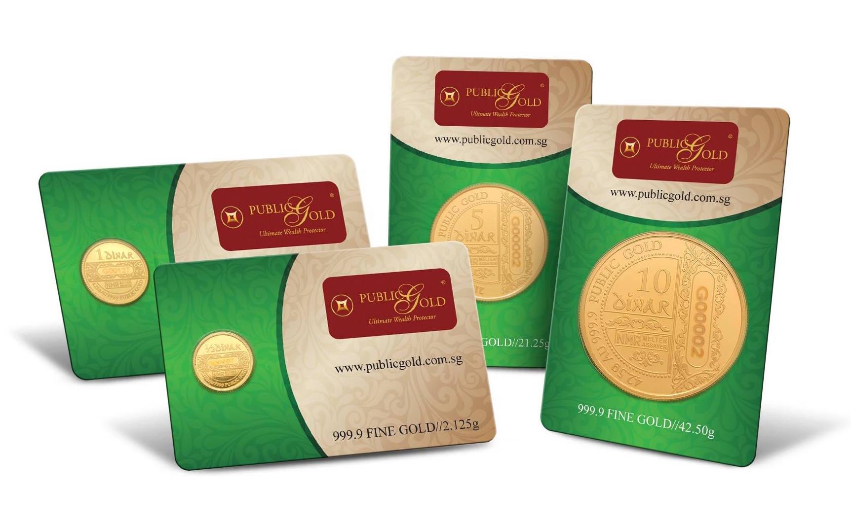 dinar emas 24k 999 public gold