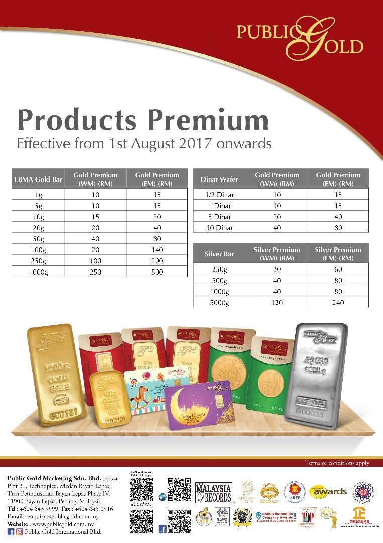 emas public gold premium ogos 2017