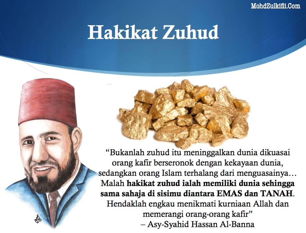 hakikat zuhud hassan al-banna