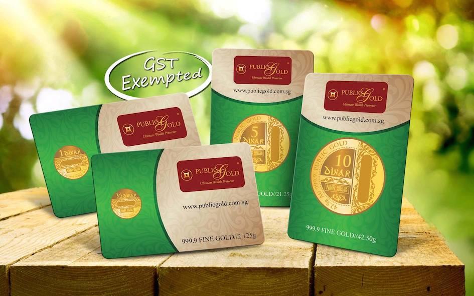 public gold dinar 999 lbma