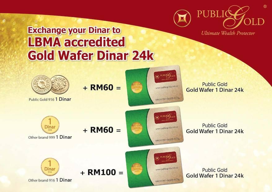 trade in dinar 916 dinar 999 lmba