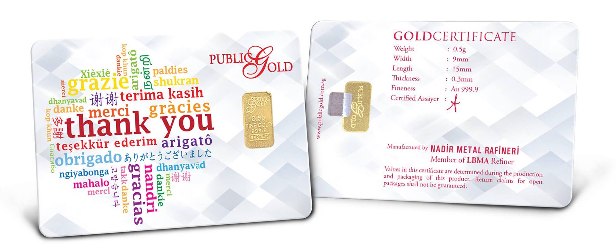 emas public gold bar 0.5 gram edisi thank you