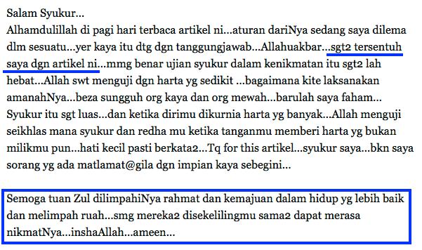 fb doa dari pembaca