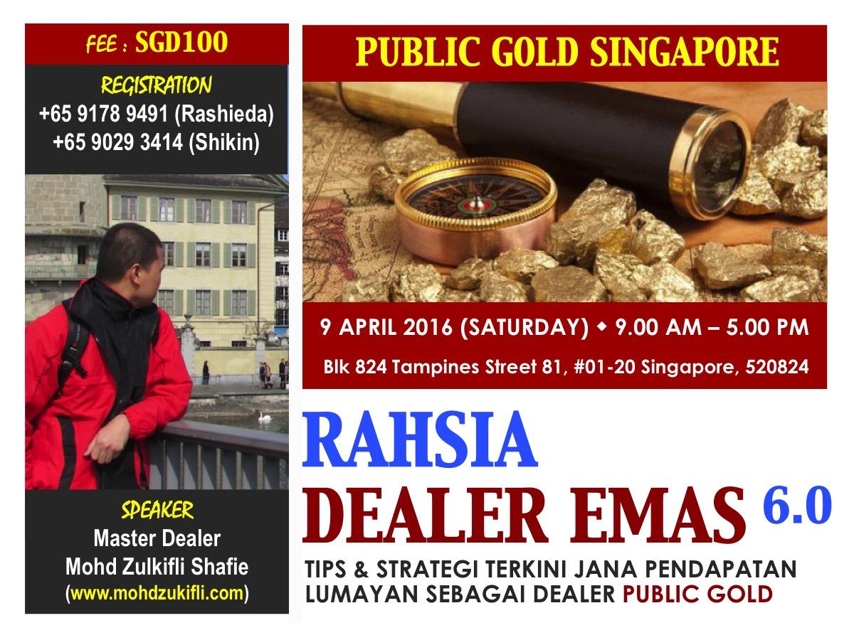 Poster - Rahsia Dealer Emas (Singapore)