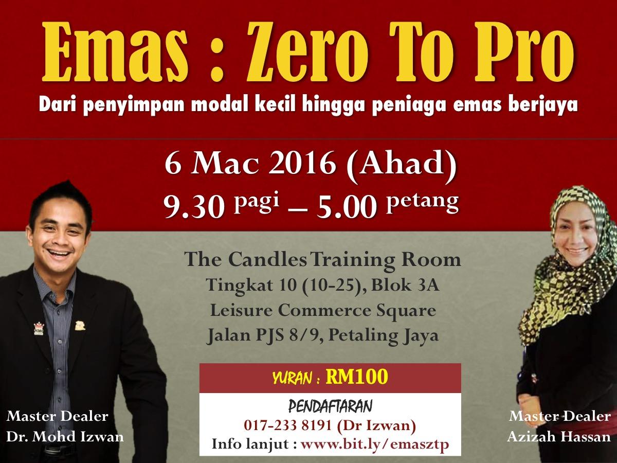 Poster - Emas Zero To Pro 1.1