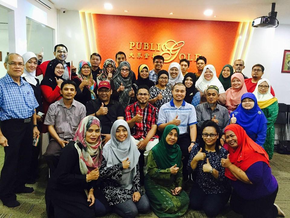 seminar public gold singapore bengkel emas dan syariah