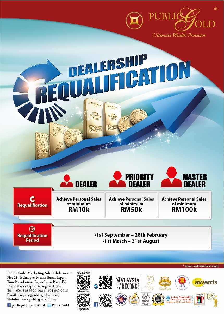 Public Gold Dealer Requalification
