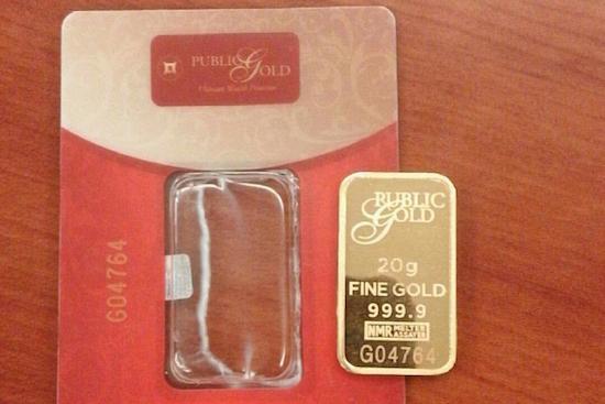 emas public gold lbma 20 gram buka sarung plastik seal crop