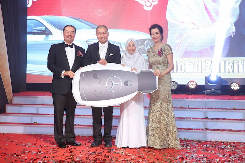 public gold my dream car award car ownership fund mohd zulkifli najdah