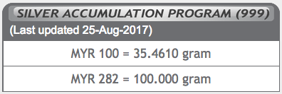 harga silver accumulation program sap public gold 2017-08-25