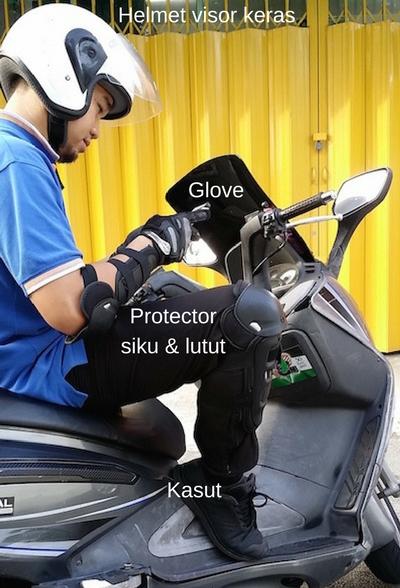 tip jimat keselamatan motosikal