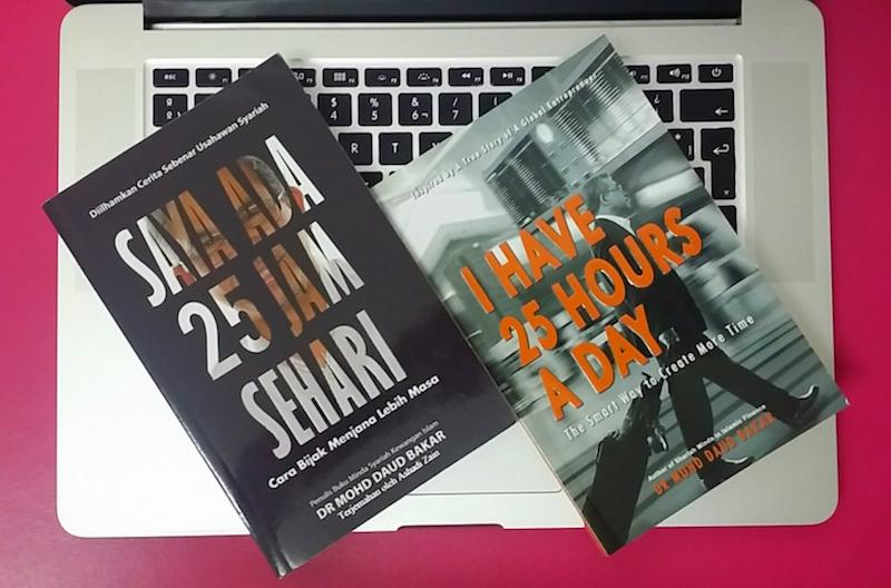 buku saya ada 25 jam sehari datuk dr mohd daud bakar