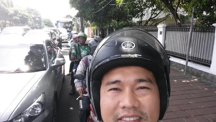 09 naik gojek taksi motor jakarta