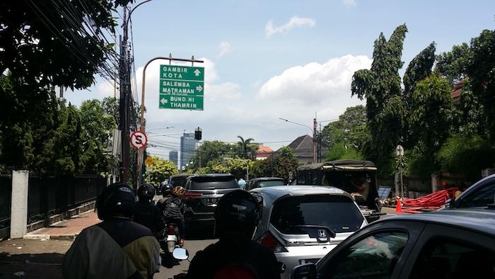 10 naik gojek taksi motor jakarta indonesia