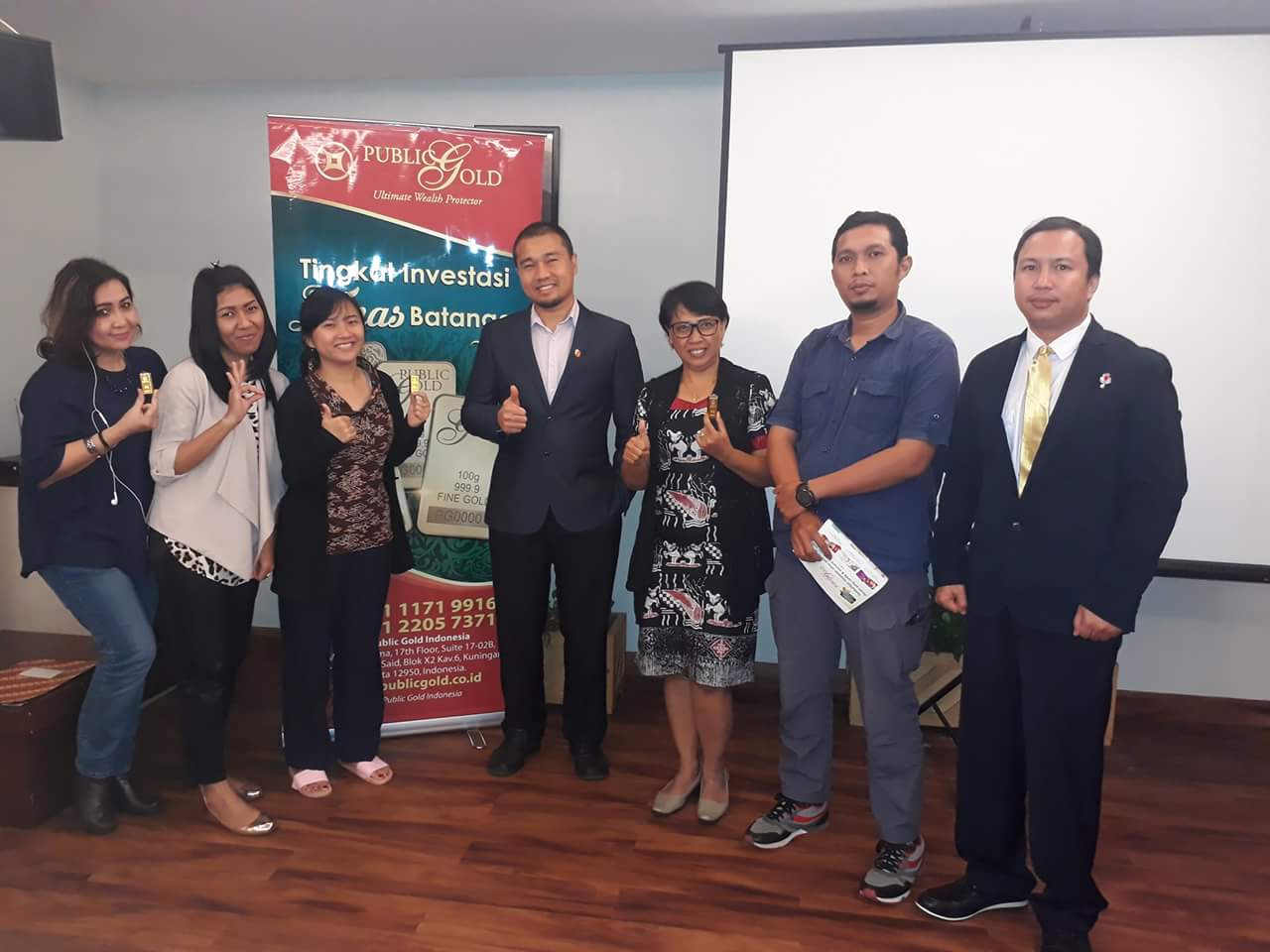 12 seminar emas public gold indonesia jakarta 26 januari 2018