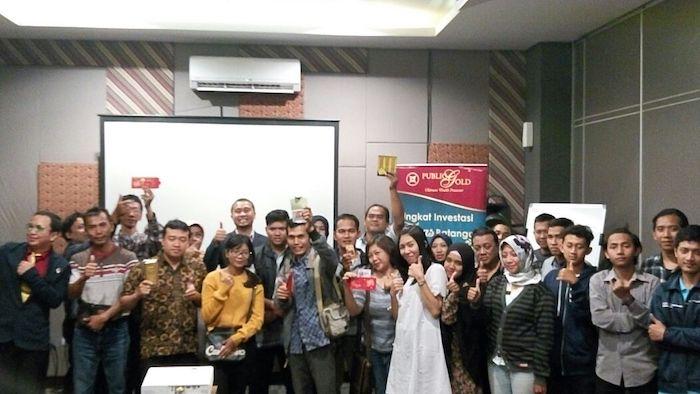 seminar emas public gold indonesia jogja 27 Januari 2018