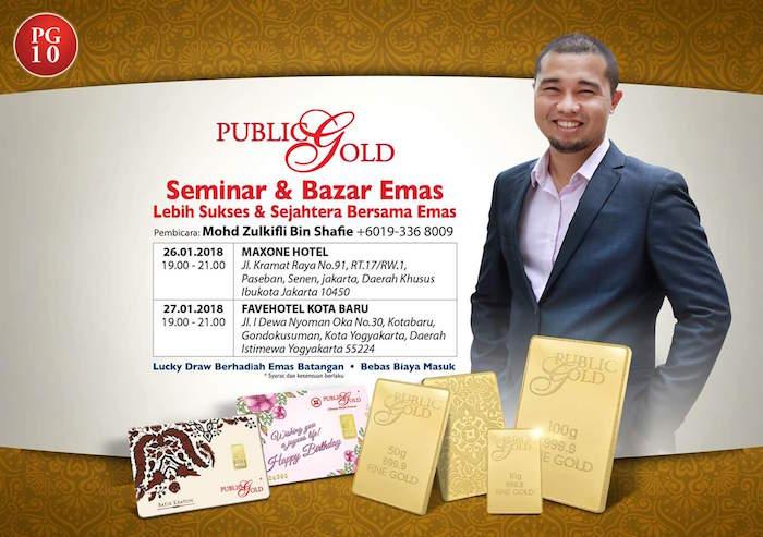 seminar emas public gold indonesia mohd zulkifli jakarta joga 2018-01 02
