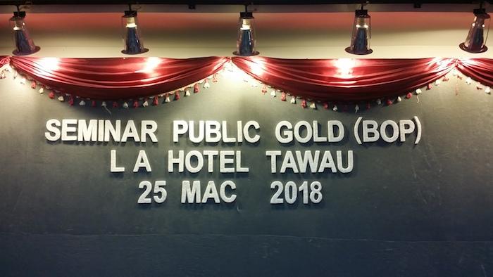 03 - seminar emas public gold tawau 2018-03