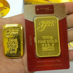 Post image for Gold Bar 100 gram LBMA : Nak Pilih Cast Bar atau Minted Bar?